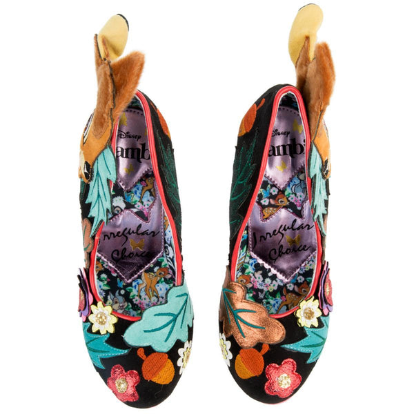 Disney's Bambi x Irregular Choice Prince Of The Forest High Heels