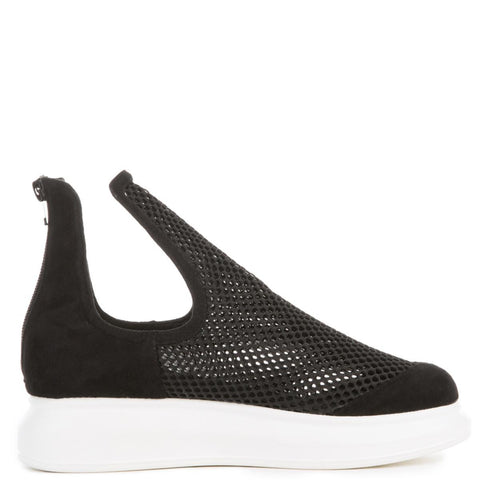 Jeffrey Campbell for Women: Odela Black Mesh Shoe