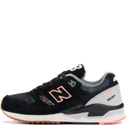 New Balance for Women: 530 Floral Ink Black Running Shoes