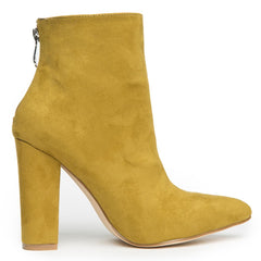 Cape Robbin Beautiful-9 Women's Olive Booties