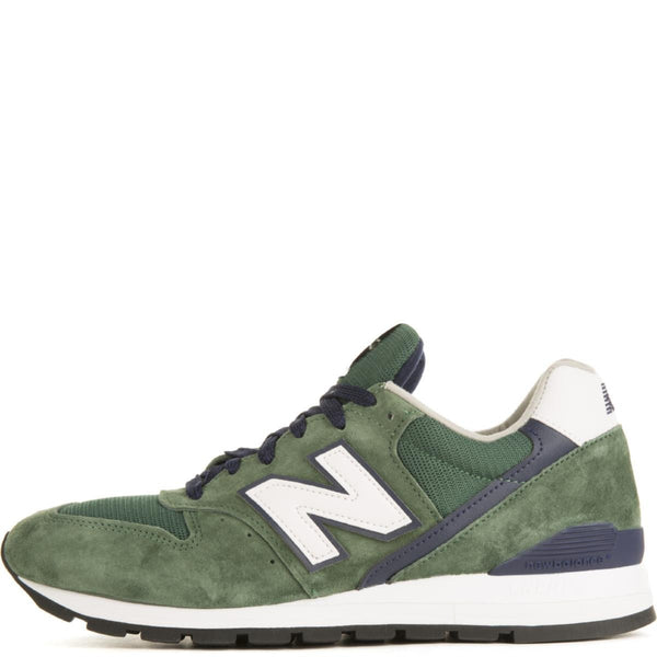 huge discount eda6d 56bfa New Balance for Men: 996 Heritage Made In USA Green/Navy Sneakers