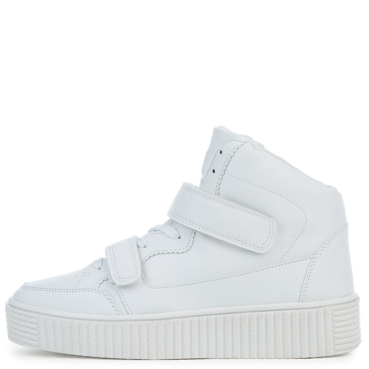 Cape Robbin Izzy-2 Women's White Sneakers