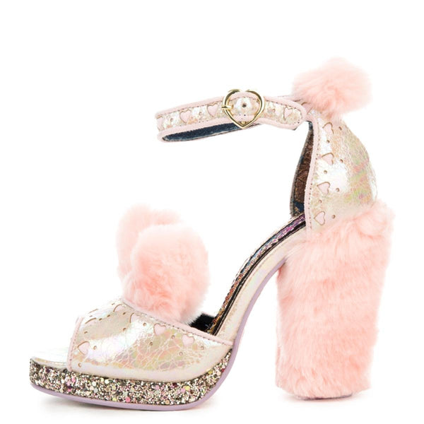 Women's Cream Puff Pink High Heel
