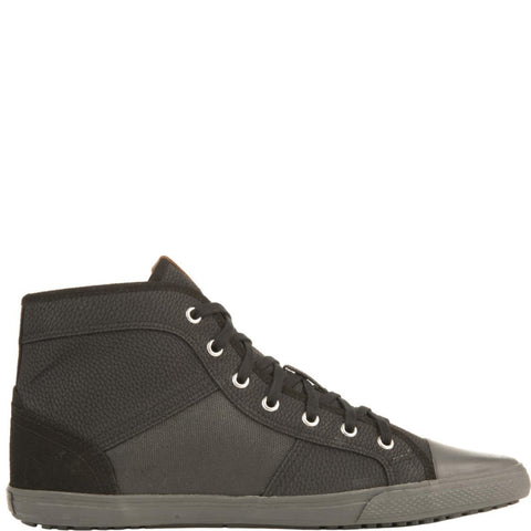 Men's Madison Hi Black Sneakers
