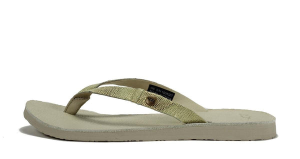UGG Australia for Women: Ally Lizard Blank Canvas Sandal