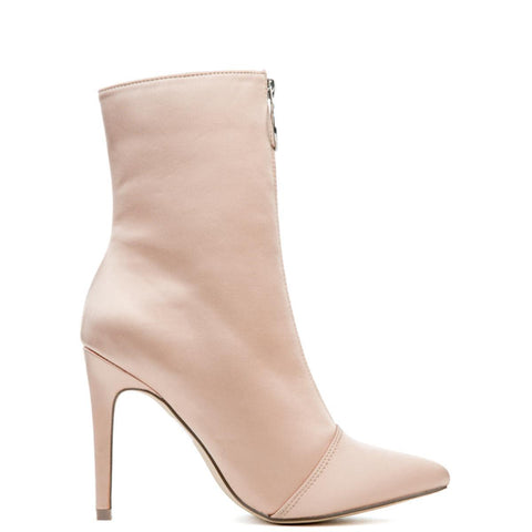 Cape Robbin Gigi-16 Nude Women's Booties