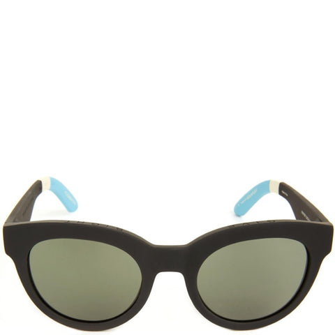 Toms: Traveler Florentin Matte Black Sunglasses