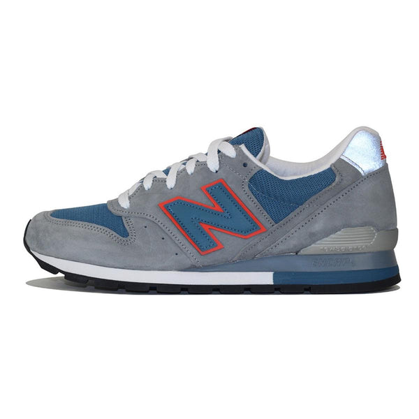 New Balance for Men: Made in the U.S.A 996 Grey Running Sneaker