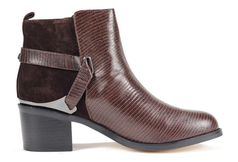 Senso Shoes: India 1 Bordo Bootie