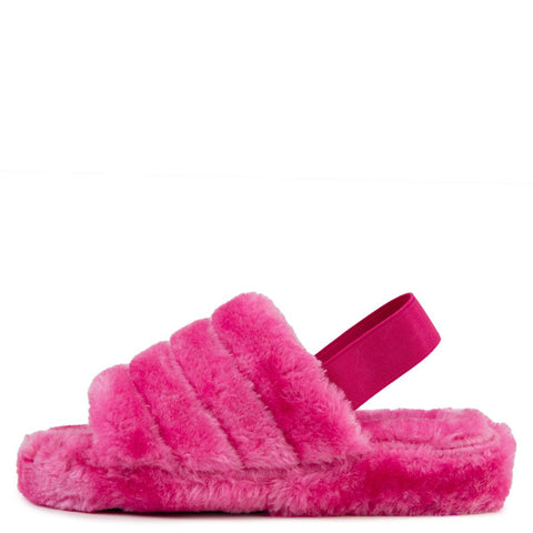 Warmness-02 Fur Slides
