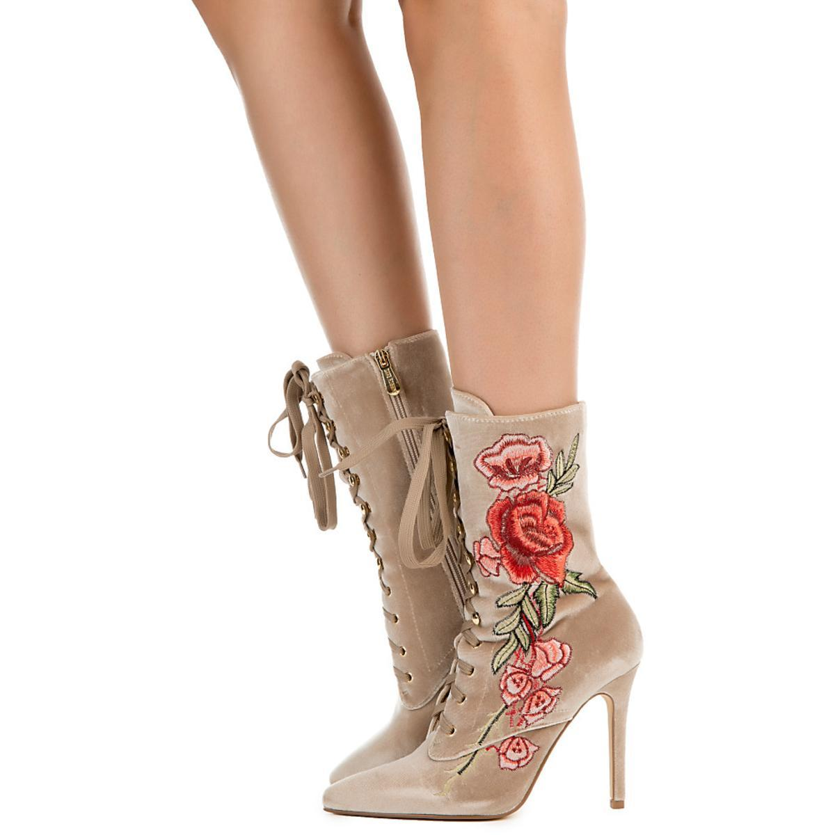 Women's Lace Up Bootie
