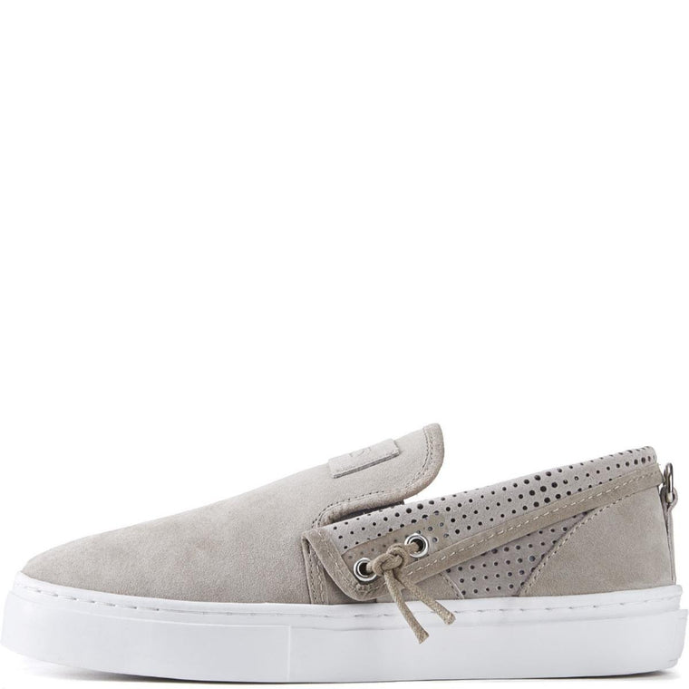 Clear Weather for Men: Lakota in Goat Slip-On Sneakers
