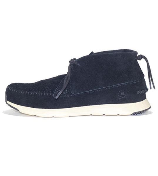 Ransom: Alta Mid Black Bone Sneakers