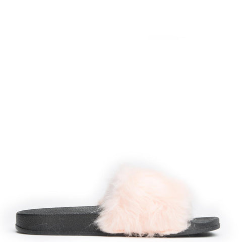 Cape Robbin Moira-5 Blush Women's Slide
