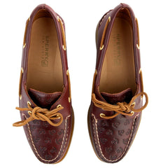 Sperry Topsider for Women: A/O Cordovan Anchors Boat Shoe
