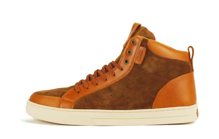 Clae for Men: Russell Curry Leather Suede Sneaker