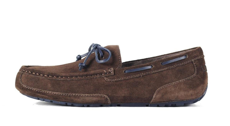 UGG Australia for Men: Chester Suede Chocolate Slipper