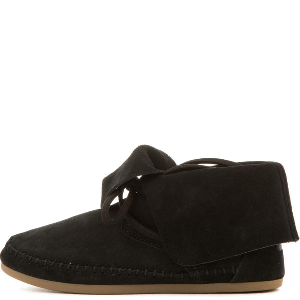 Toms for Women: Zahara Black Suede Boots