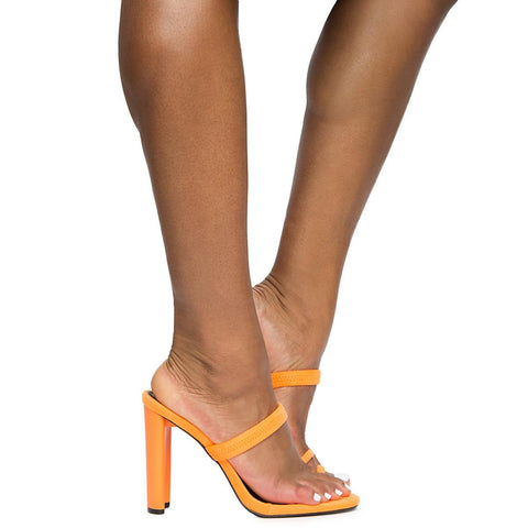 Women's Daline Orange High Heels