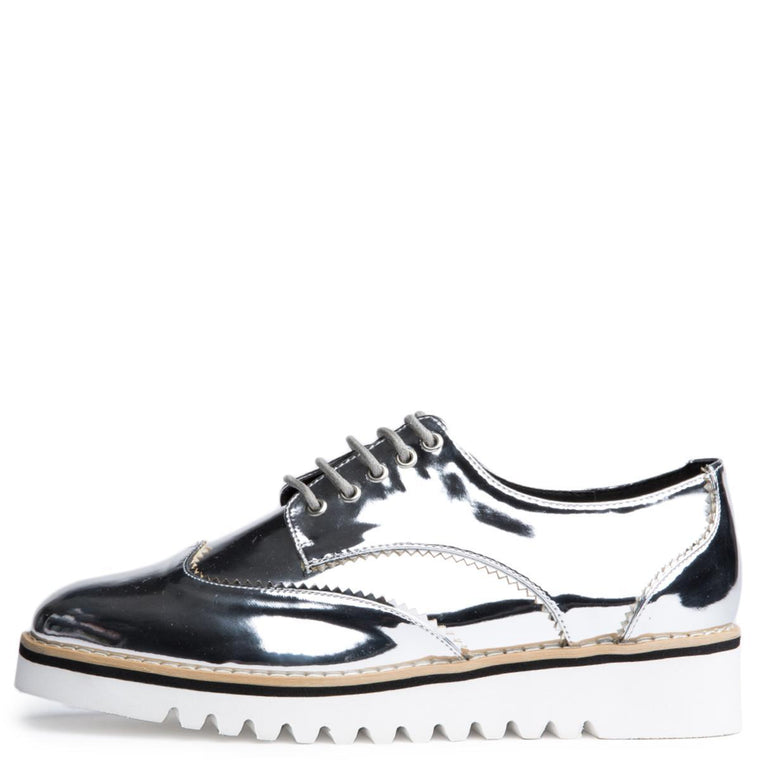 Cape Robbin Venus-1 Silver Women's Oxford