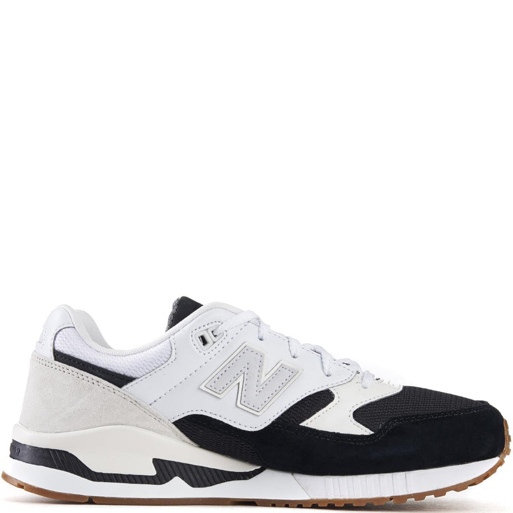 475edff4 New Balance for Men: 530 Summer Waves Black with White Running Shoes