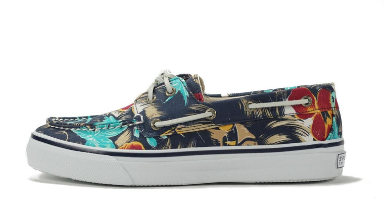 Sperry Topsider: Bahama 2 Eye Navy Hawaii
