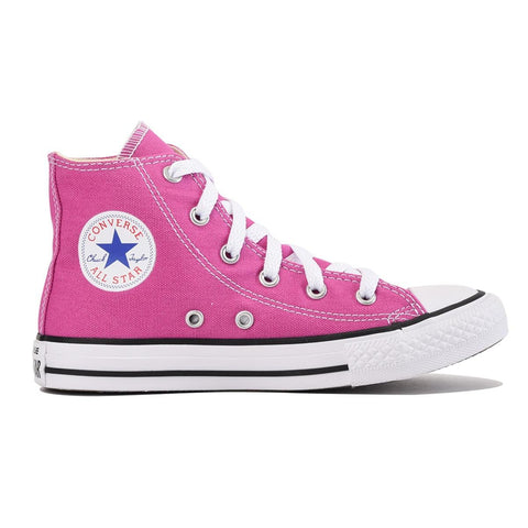 Converse for Kids: Chuck Taylor All Star Hi Plastic Pink Sneaker