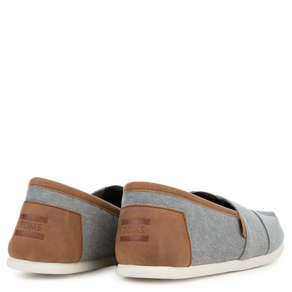 Toms Seasonal Frost Grey Men's Flats