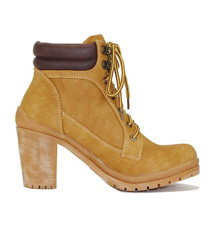 Women's Low Heel Ankle Boot Hanson-1