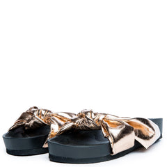 Cape Robbin Moira-35 Women's Rose Gold Slides