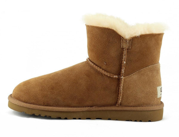 UGG Australia for Women: Mini Bailey Chestnut Boots