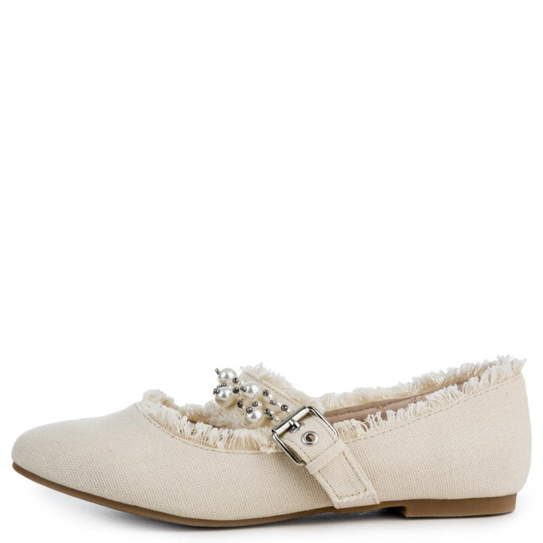 Cape Robbin Penny-1 Women's Canvas Flat