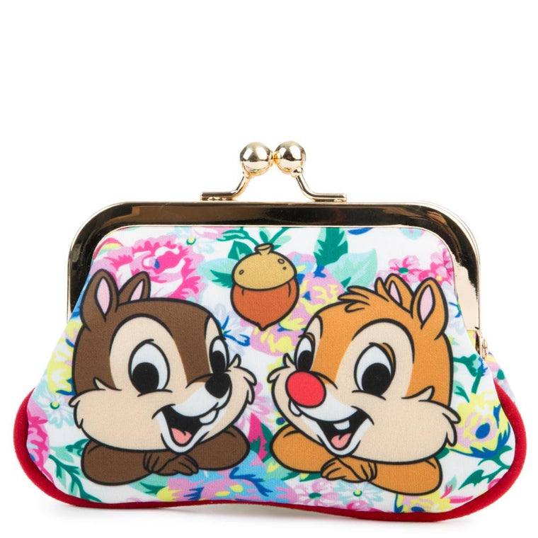 Irregular Choice Mickey Mouse & Friends Collection Women's Chip N Dale Pink Coin Purse