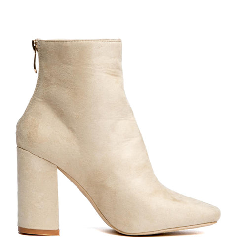 Cape Robbin Betisa-38 Beige Women's Booties