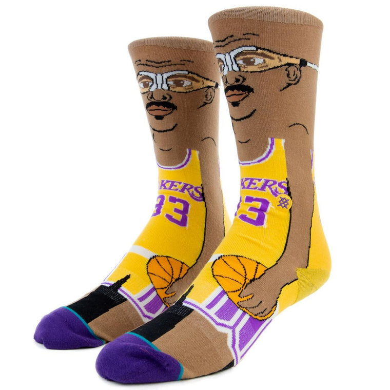 Stance: Kareem Cartoon