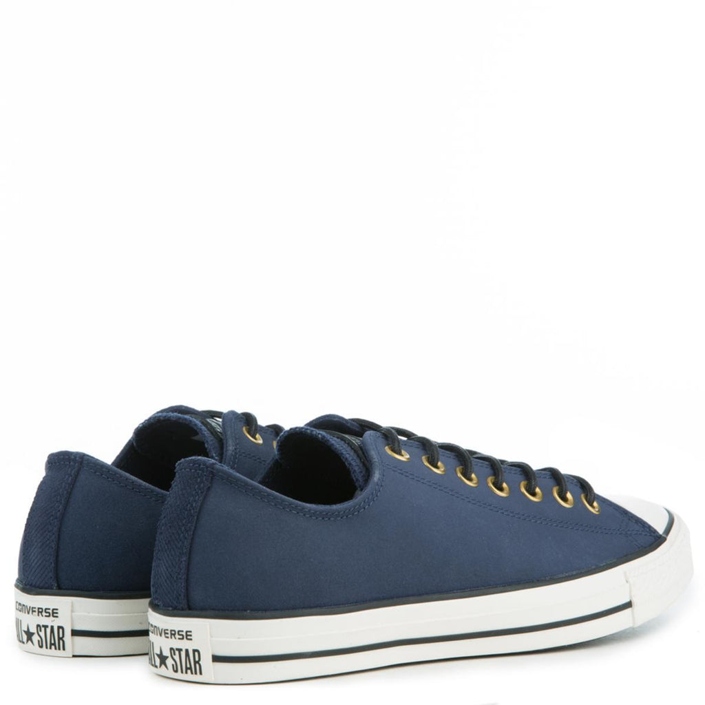 Converse Men s Chuck Taylor All Star Crafted Navy Blue Suede Low Tops 609974e44