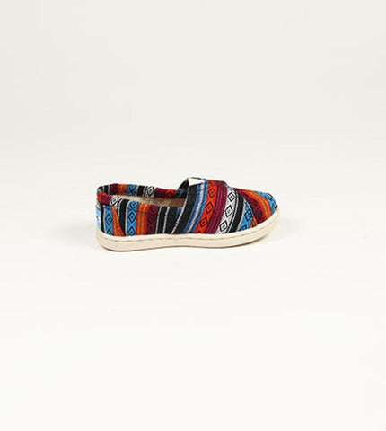 Tiny Toms Classic Blue Woven Textile