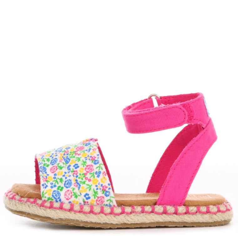 Toms for toddlers: Fuchsia Multi Floral Malea Sandal