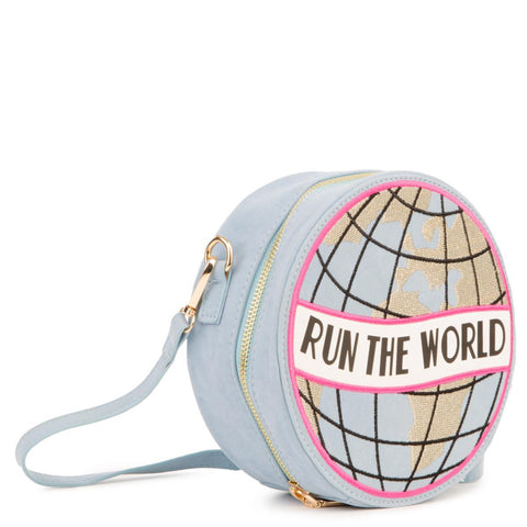 Women's Run The World Clutch