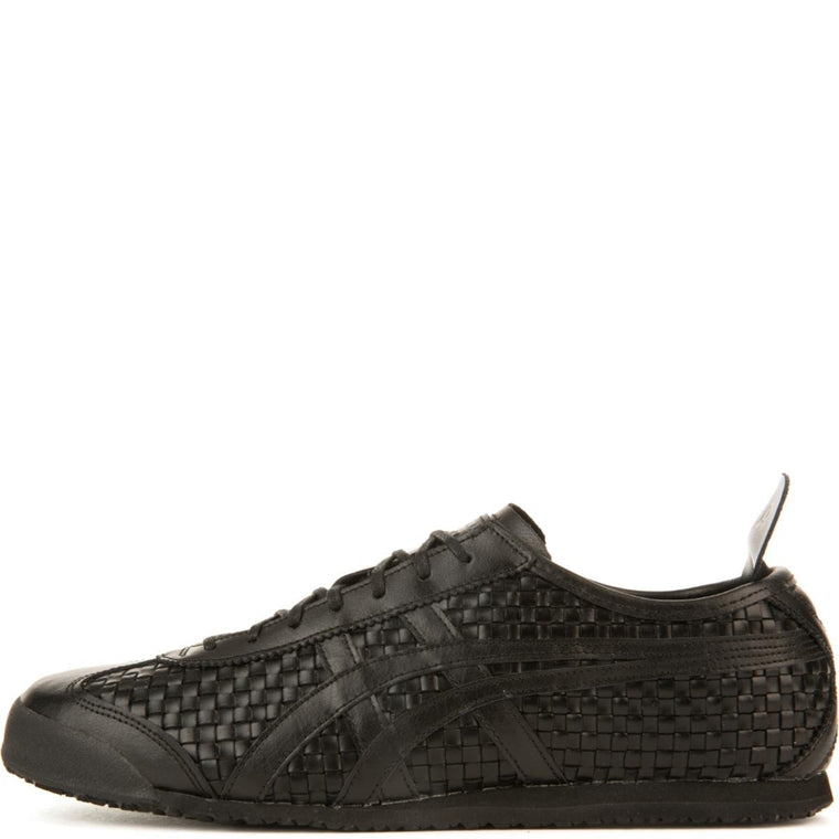 Onitsuka Tiger Unisex: Mexico 66 Black/Black Sneakers