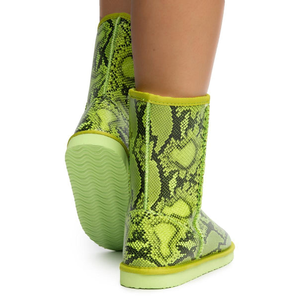 Lizzard Booties