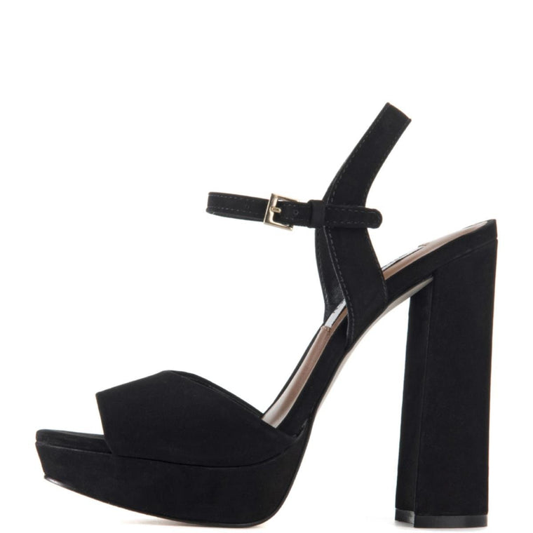 Steve Madden for Women: Kierra Black Platform Heels