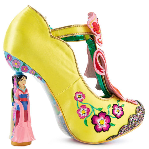 Disney's Mulan x Irregular Choice Let Your True Self Shine Heels