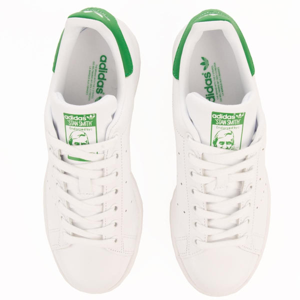 adidas for Women: Stan Smith White Green Sneakers
