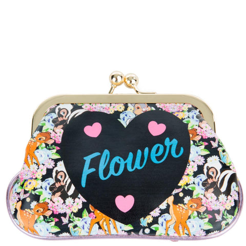Disney's Bambi x Irregular Choice  Flower Coin Purse