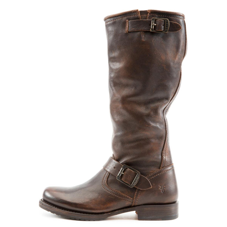 Frye for Women: Veronica Slouch Dark Brown Tall Boot
