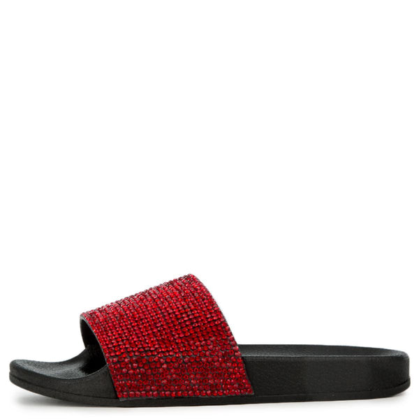 Cape Robbin Moira-67 Women's Red Slides