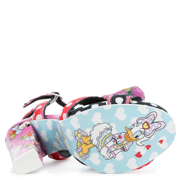 Irregular Choice Mickey Mouse & Friends Collection Women's Ditty Minnie Pink Minnie