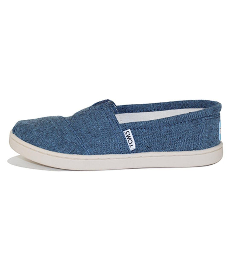 Toms for Kids: Classic Navy Chambray