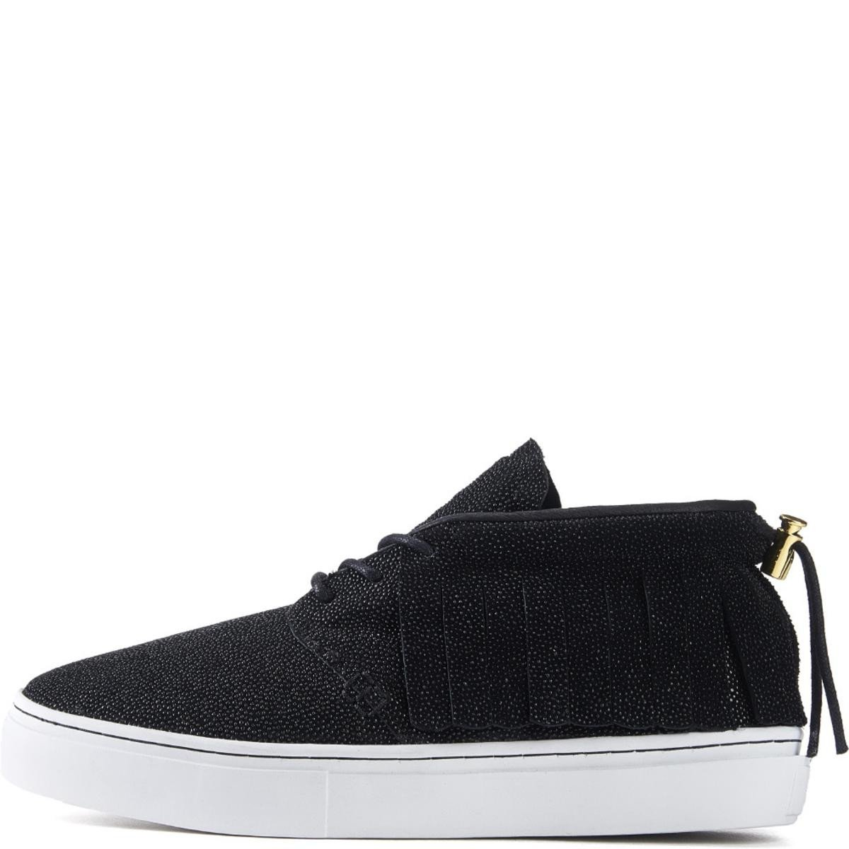Clear Weather for Men: One O One Black Stingray Chukka Sneaker